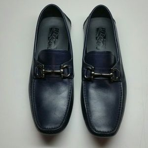 Mens Ferragamo loafers size 8.5